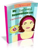 My Boyfriend Requirement List